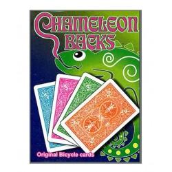 Cartes magic Chameleon back