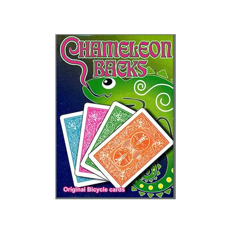 Cartes magic Chameleon back