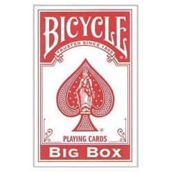Cartes Bicycle Géante Rouge