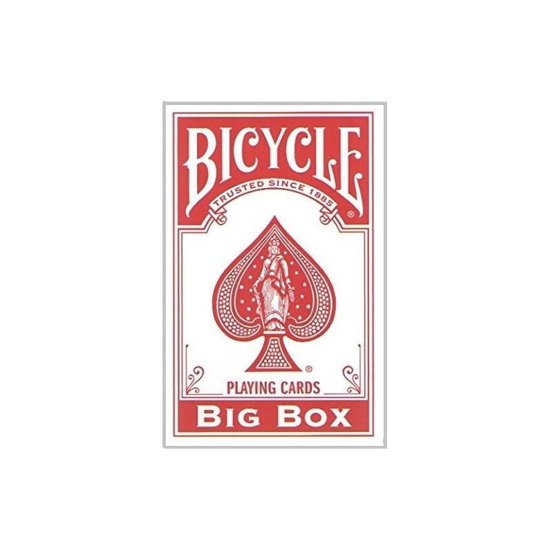Cartes Bicycle Géante Rouge