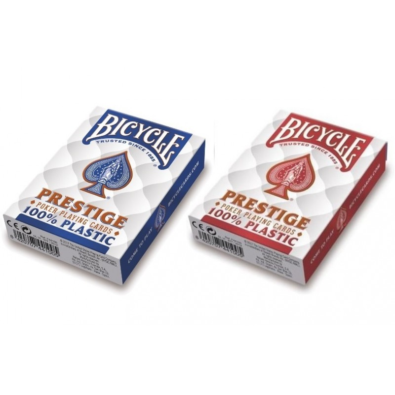 Bicycle Poker Plastic Prestige