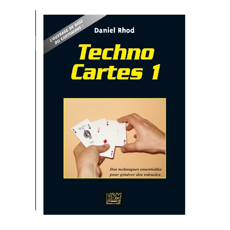 "Livret ""Techno Cartes 1"""
