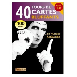 "Livre ""40 Tours de Cartes Bluffants"""