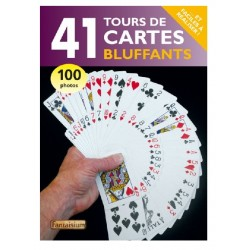 "Livre ""41 Tours de Cartes Bluffants"""