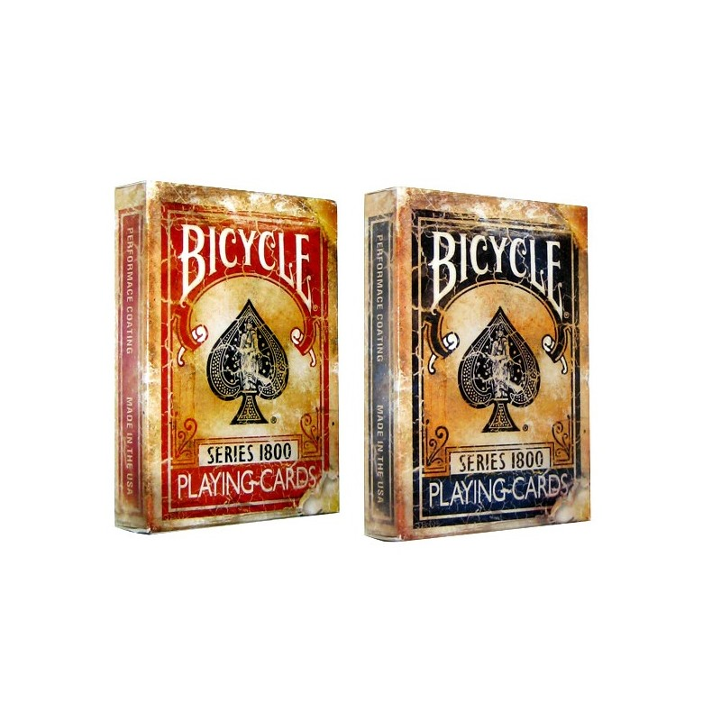 Bicycle Poker Vintage 1800